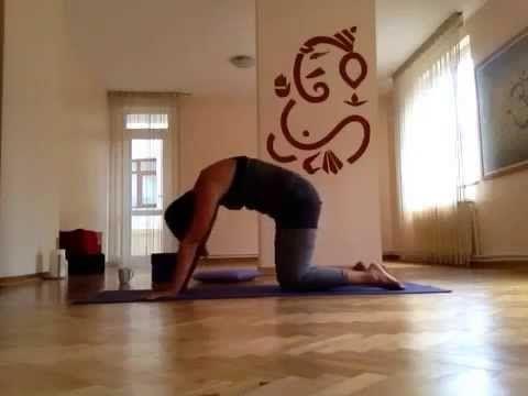 Türkce Yoga Dersi (Yogastunde auf Türkisch) - YouTube