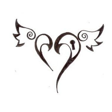 Les 25 meilleures id es concernant tatouages d 39 ailes sur - Tatouage ailes d ange ...
