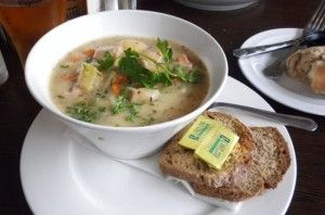 Traditional Irish stew with Guinness by Richie Wilson, head chef at Burlington Hotel, Dublin.