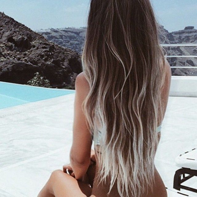 I want this hair  Frosted Ends.
