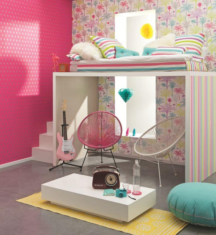 34 besten kindertapeten f r m dchen bilder auf pinterest kaufen gelb und minze. Black Bedroom Furniture Sets. Home Design Ideas