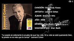 leonard cohen full album greatest hits - YouTube