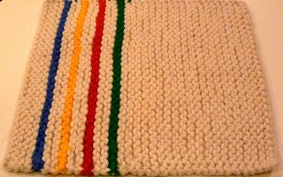 Jerisew(s): Hudson Bay Dishcloth