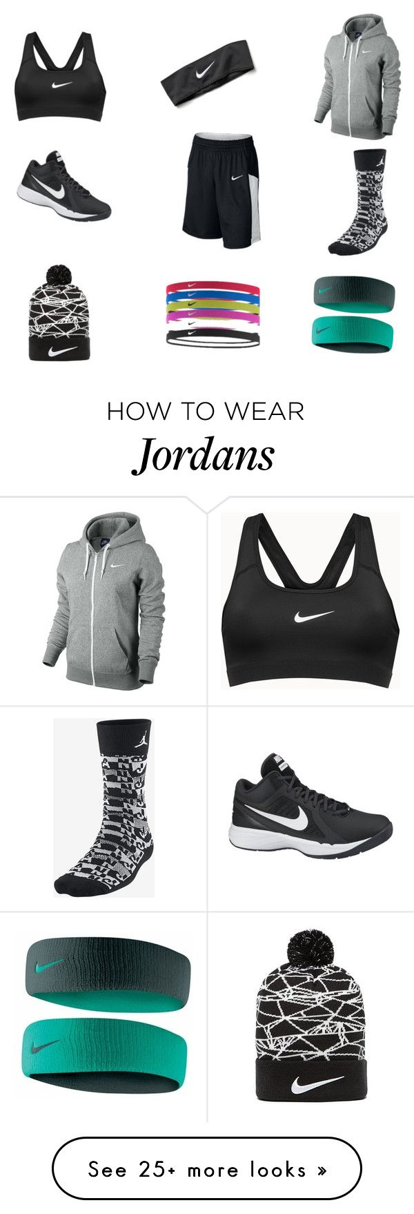"""""""I'll be all Nike one day lol ❤️"""" by spadilla-i on Polyvore featuring NIKE"""