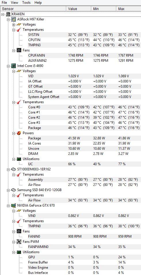 Low tempratures during Gaming!  https://www.facebook.com/PCWhisperer.gr