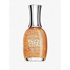 (Pack of 2) Limited Edition Fuzzy Coat - Peach Fuzz - Sally Hanson Textured Nail Color