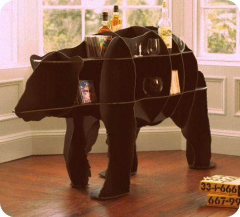 who doesn't want a bear shelf?
