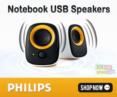 Notebook USB Speaker Building a Better Tomorrow...http://goo.gl/Kg4EZA