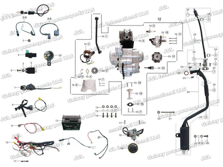 110 Atv Wiring Diagram For 110cc Chinese