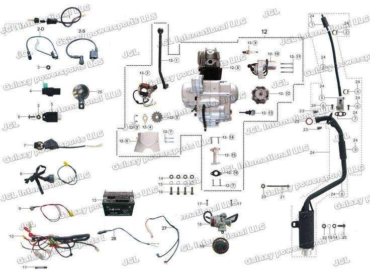 [DIAGRAM] Wiring Diagram For 110cc Pit Bike FULL Version
