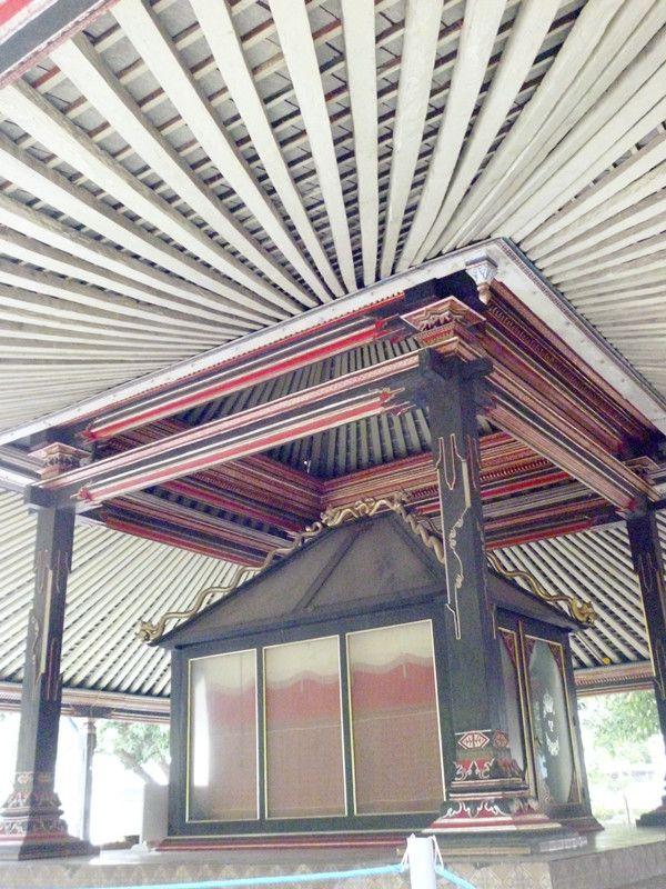 Javanese architecture (at Keraton Surakarta, Indonesia)