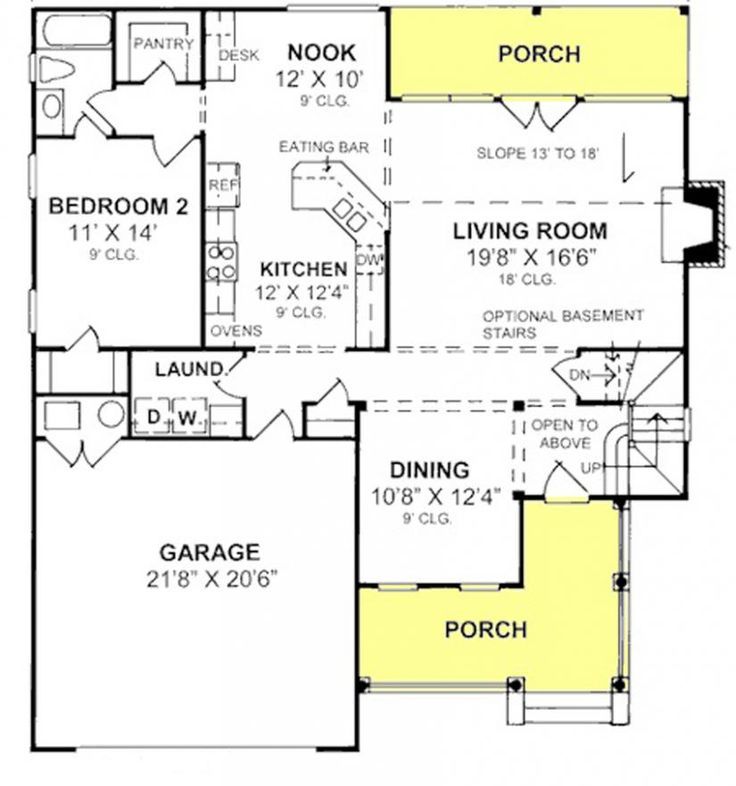 655822 beautiful farmhouse with large walk in pantry for House plans with walk in pantry