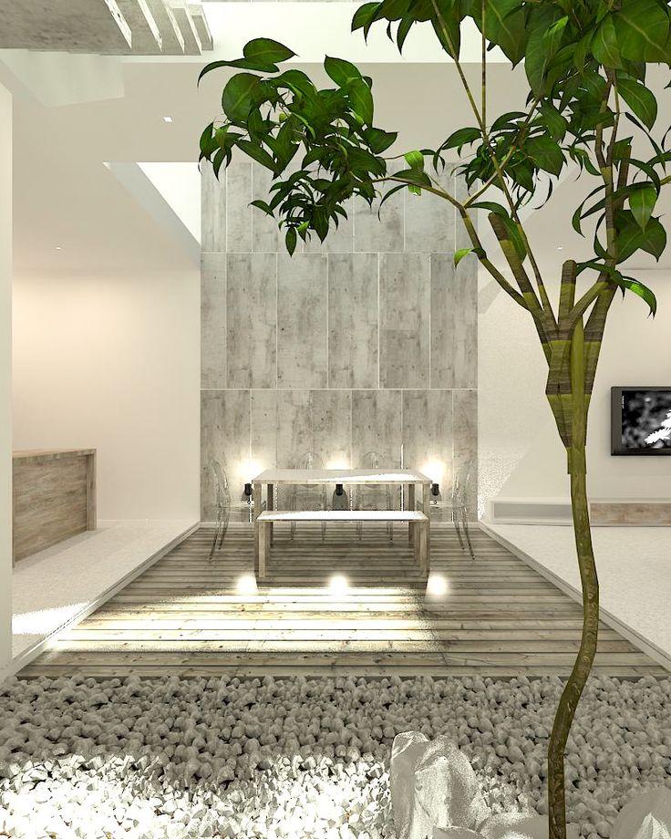Naturetrails, introducing skylight+vegetation into interior