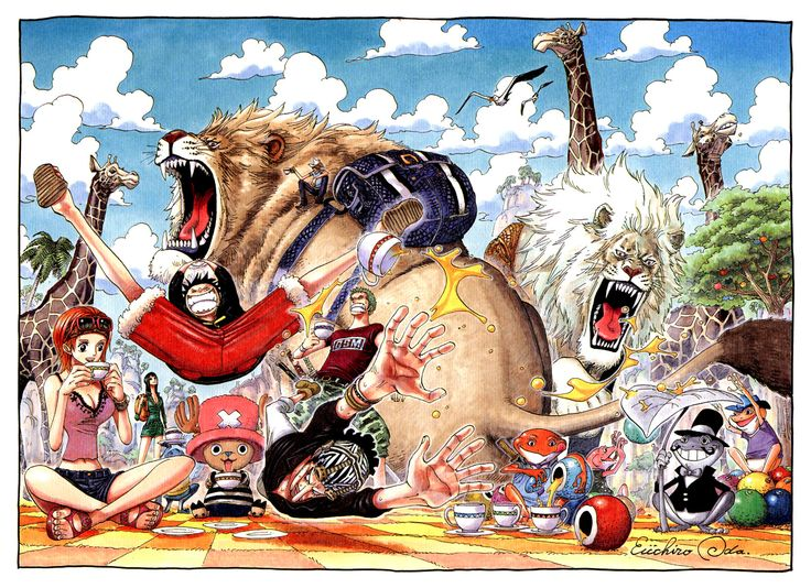 One Piece - Its a Zoo!
