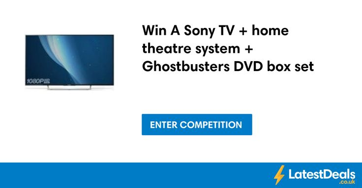 Win A Sony TV + home theatre system + Ghostbusters DVD box set at Swtcompetitions
