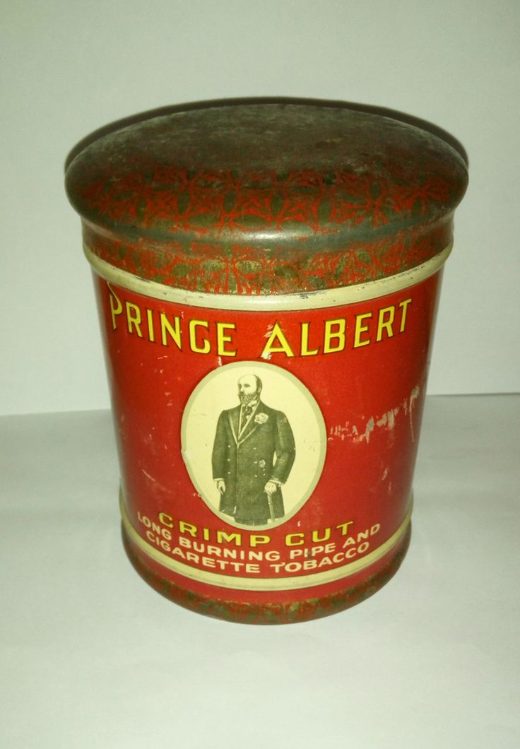 Excited to share the latest addition to my #etsy shop: Vintage Prince Albert Crimp Cut tobacco metal tin box http://etsy.me/2i7Kcyh #vintage #collectibles #red #gold #prince #albert #tobbaco #metal #tin