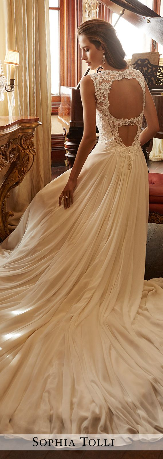 Wedding Dress by Sophia Tolli 2017