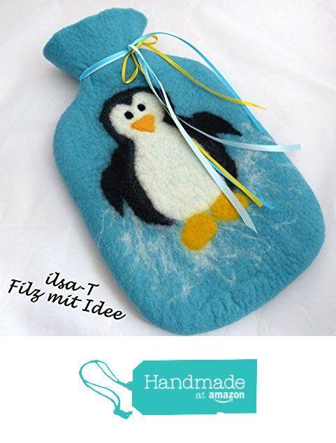 Wärmflasche Pinguin, gefilzt mit Bezug von der ilsa-T https://www.amazon.de/dp/B01LXDTLWK/ref=hnd_sw_r_pi_dp_aU99xbPRJNTT0 #handmadeatamazon