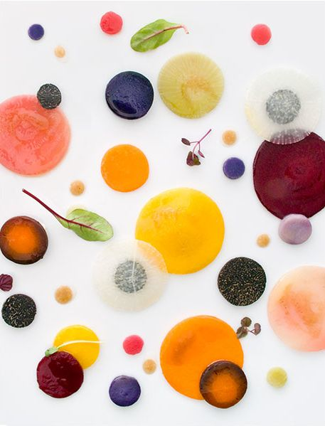 Vegetable cross sections / food photographs by Richard Haughton