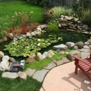 These tales of outdoor transformations may just inspire you to build a pond of your own