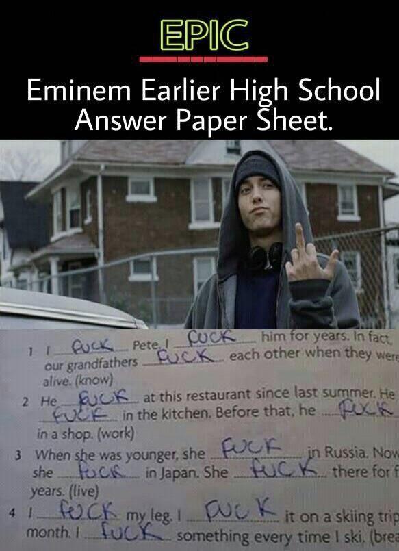 Pin By Nadira Nasywaa Jasmine On Eminem Eminem Memes Eminem Eminem Funny