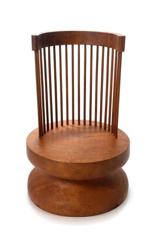 mass chair 1 in solid kwila wood chair