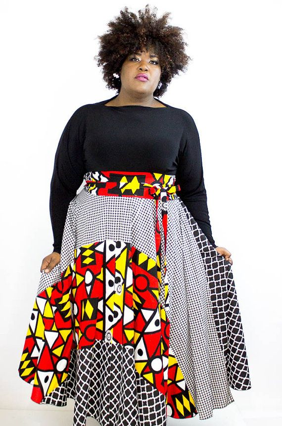 My Curves & Curls™ | A Canadian Plus Size Fashion blog: 5 Places to shop for plus size african print designs