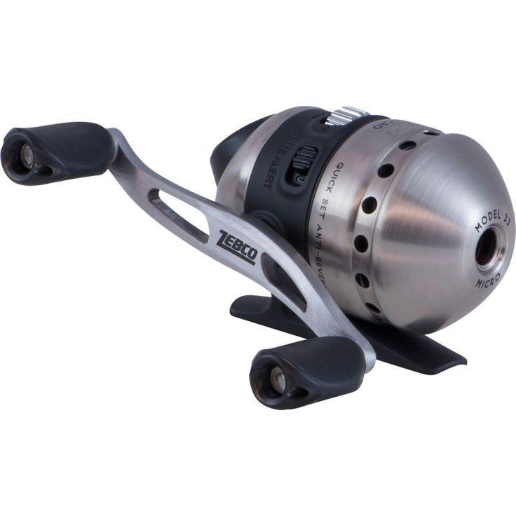 Zebco 33 Micro Spincast Reel, Grey