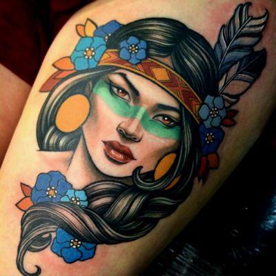 Tattoo done byTeniele Sadd.... - THIEVING GENIUS