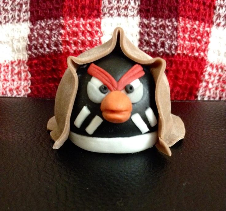 another edible made angry birds star wars figure i made 2014