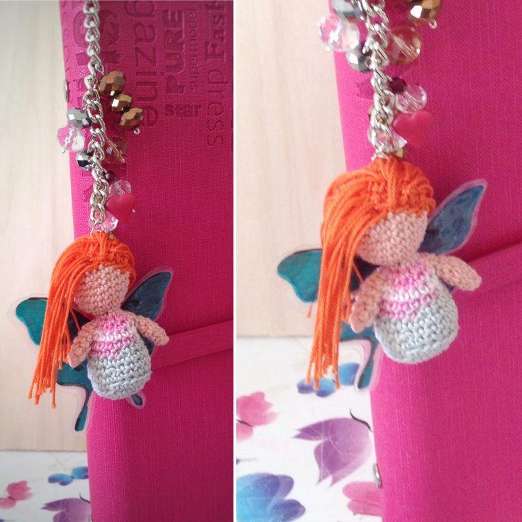 charm amigurumy fairy  https://www.facebook.com/groups/1840937649451426/