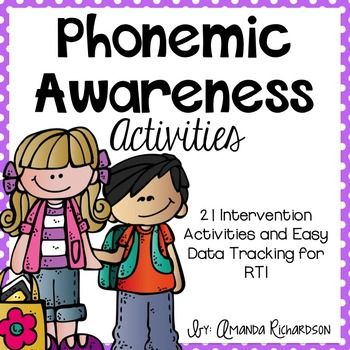 Phonological awareness activity for preschoolers