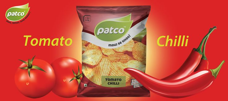 patco #Tomato #Chilli Potato #Wafers are crispy, crunchy and tasty. when you put inside your mouth it give you the tangy taste of tomato and chilli.
