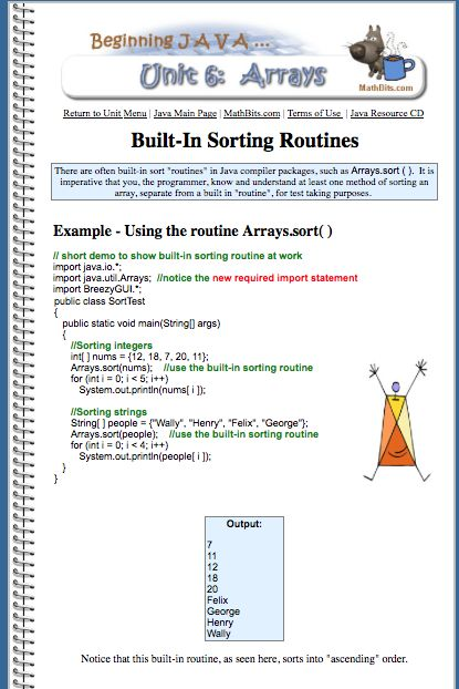 19 best Arrays \ Sorting in JAVA images on Pinterest Java, Sorting - copy modern periodic table java app