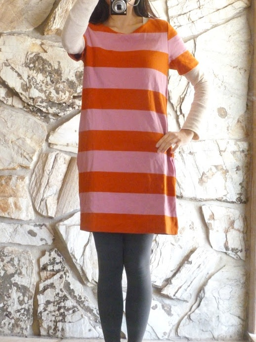 Welcome to the gOOd life: DIY: Tailor a baggy dress/tunic top