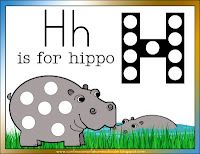 H is for Hippo Letter of the Week Unit