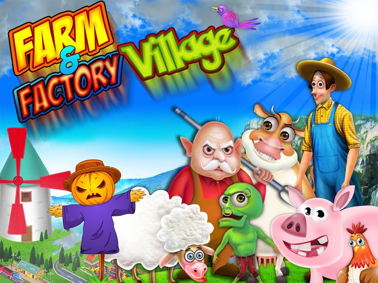 """It will be fun and adventurous to know how to cultivate crops, maintain livestock, have a farm and live peacefully with nature. Download our 'Farm and Factory Village game - iOS""""  Download link: http://nipsapp.com/farm-factory-village-ios/ #iosgame #farmgame #nipsapp"""