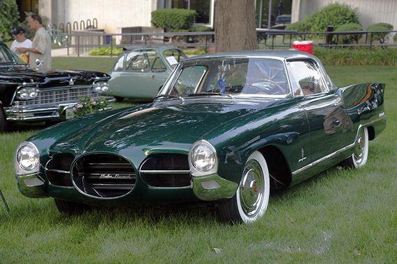 Nash Car: 1956 Nash Rambler Pinin Farina Palm Beach Coupe