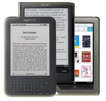 10 Places to Get Free E-Books for Kindle, Nook, and Sony Readers | Make The List