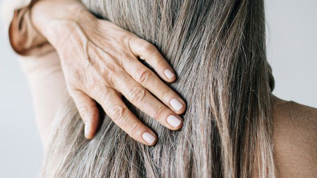 The Best Haircare And Styling Products For Gray Hair Gray Hair Styling Tips Prevent Grey Hair Hair Hair To Go