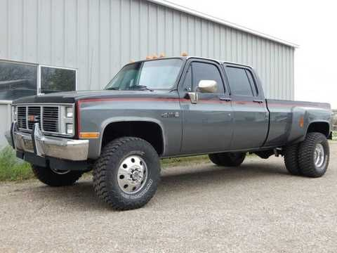 1987 chevrolet k30 crew cab dually 4x4 chevy trucks pinterest 4x4 and chevrolet. Black Bedroom Furniture Sets. Home Design Ideas