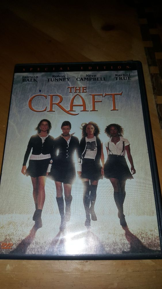 The Craft (DVD) Fairuza Balk, Robin Tunney, Neve Campbell, Rachel True #ColumbiaPictures