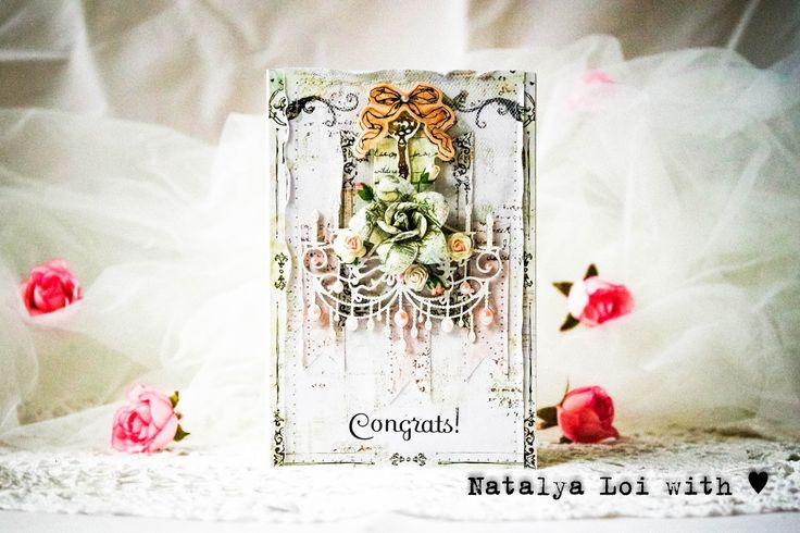 Scrapiniec inspirations on blogspot: Shabby cards