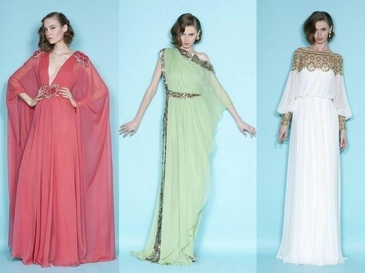 Как сшить платье в греческом стиле с выкройкой
