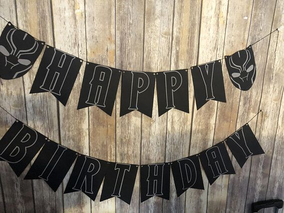 Pin On Black Panther Paint Birthday Party