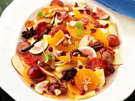 Julig fruktsallad