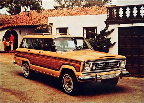 vintage jeep station wagon