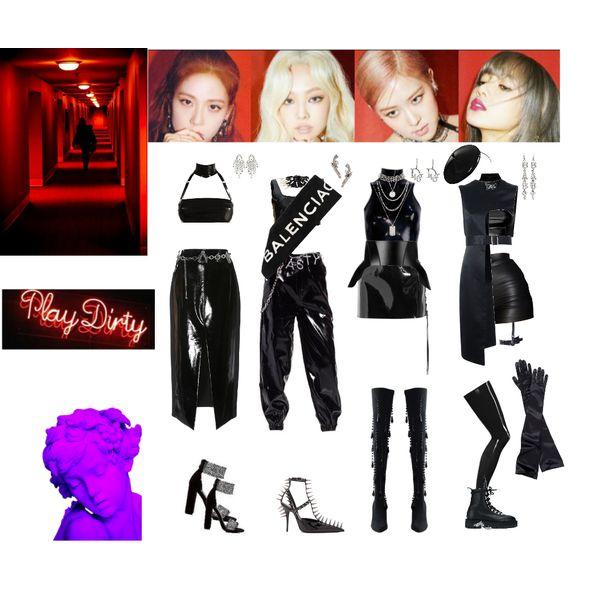 Blackpink Outfit Ideas: Fashion Set Kill This Love BP Created Via