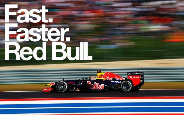 Red Bull sponsort hier en maakt reclame op een raceauto