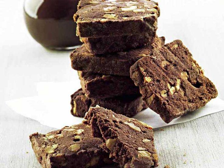 Ricetta Fettine al cioccolato e nocciole